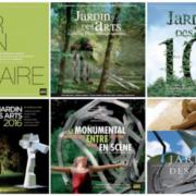 Jardin des Arts 10 ans de couvertures