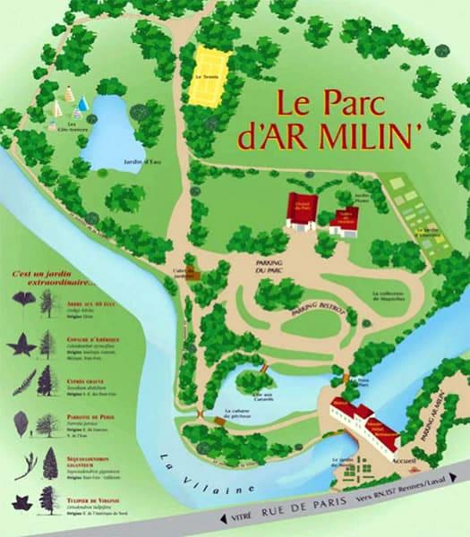 Parc d'Ar Milin' parcours