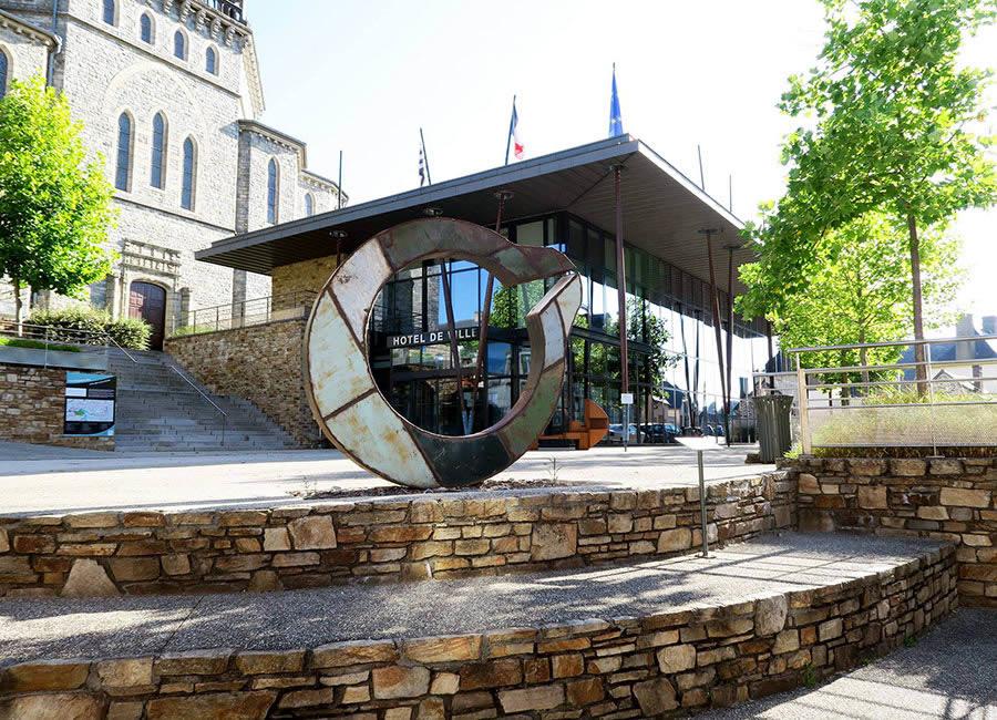 Parcours visite Jardin des Arts Chateaubourg