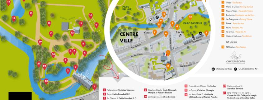 Plan Jardin des Arts Châteaubourg 2018