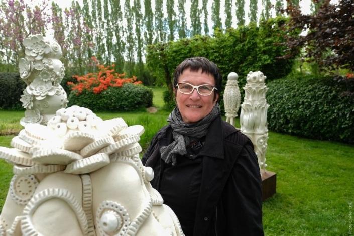 Frédérique FLEURY, artiste exposant Jardin des Arts 2018