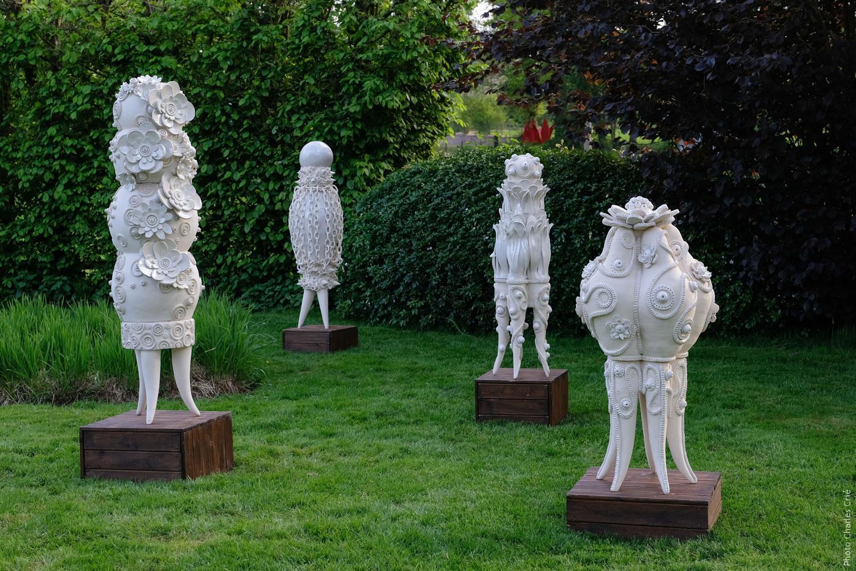 Elegante, Nuisette, Pistil et Gourmande - Frédérique FLEURY - Jardin des Arts 2018