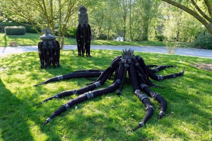 Les 3 Belles - Frédérique FLEURY - Jardin des Arts 2018