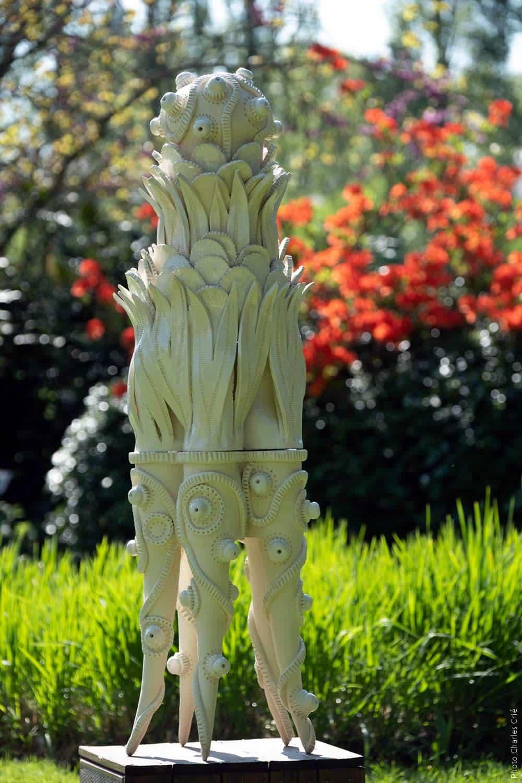 Elégante, Gourmande, Pistil & Nuisette - Frédérique FLEURY - Jardin des Arts 2018