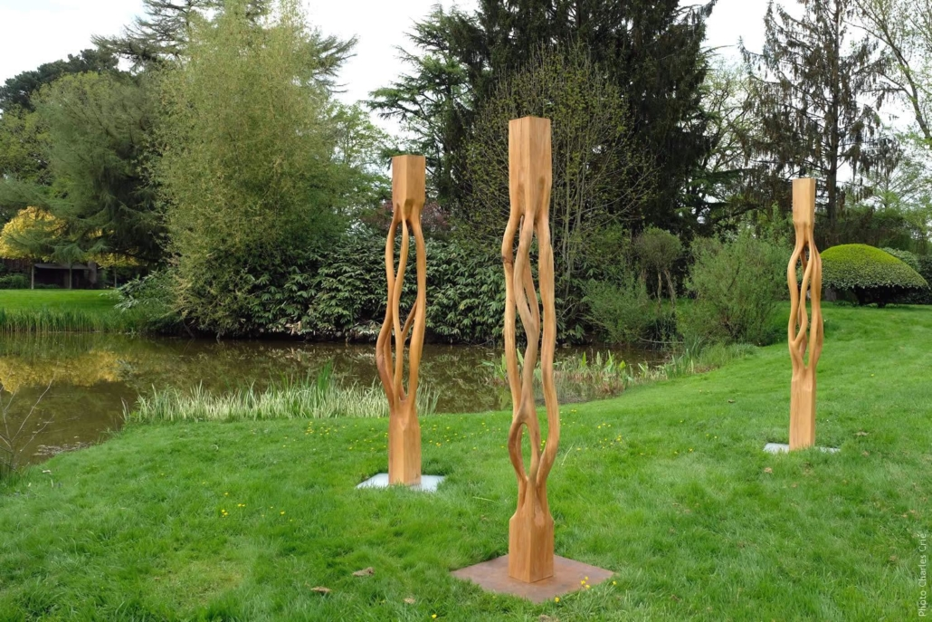 Métamorphose I, II & III - Jonathan BERNARD - Jardin des Arts 2018