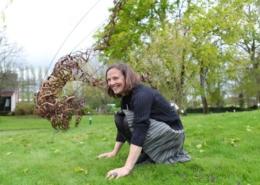 Annick Leroy - Artiste - Jardin des Arts 2012