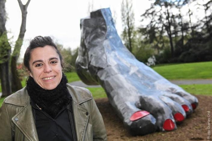 Delphine Lecamp - Artiste - Jardin des Arts 2012