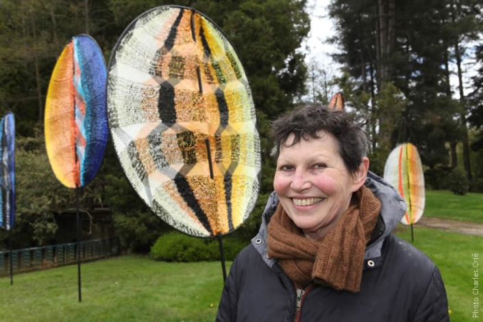 Edith Meusnier - Artiste - Jardin des Arts 2012