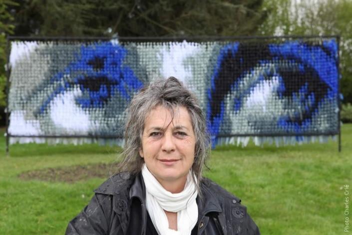 Violaine Dejoie-Robin - Artiste - Jardin des Arts 2012