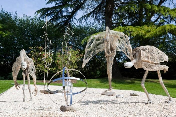 Sculptures - Bréval - Jardin des Arts 2011