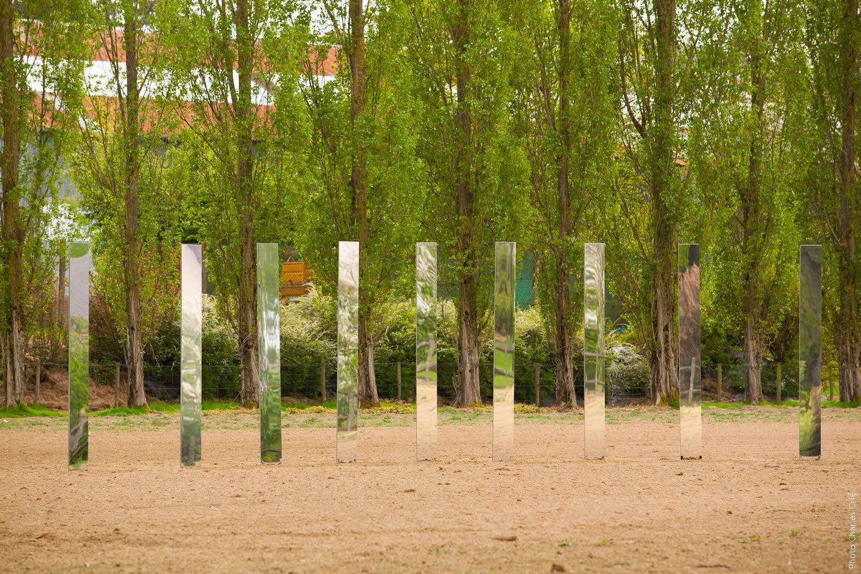 Chant de nuages - Brigitte Sillard - Jardin des Arts 2010