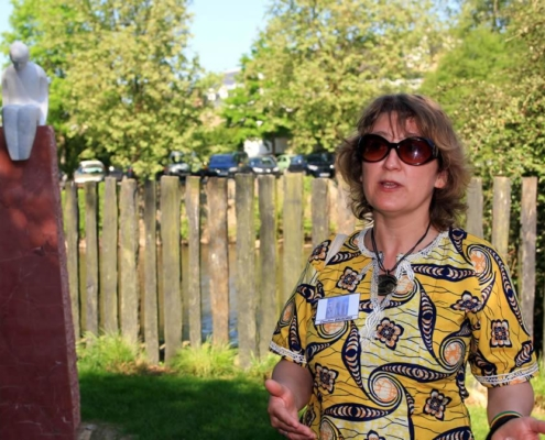 Claudine Brusorio - Artiste Jardin des Arts 2008