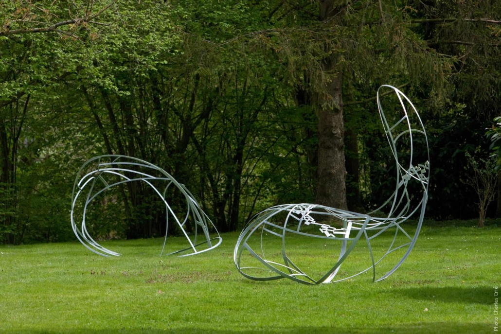 Courant d'air 1 et 2 - Annelise NGuyen - Jardin des Arts 2010
