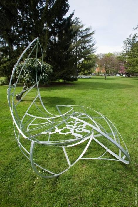 Courant d'air - Annelise NGuyen - Jardin des Arts 2010