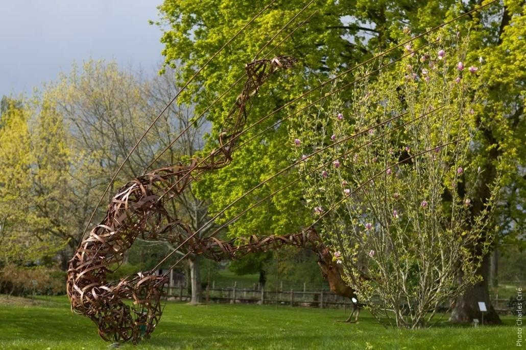 Le grand bond en avant - Annick Leroy - Jardin des Arts 2012