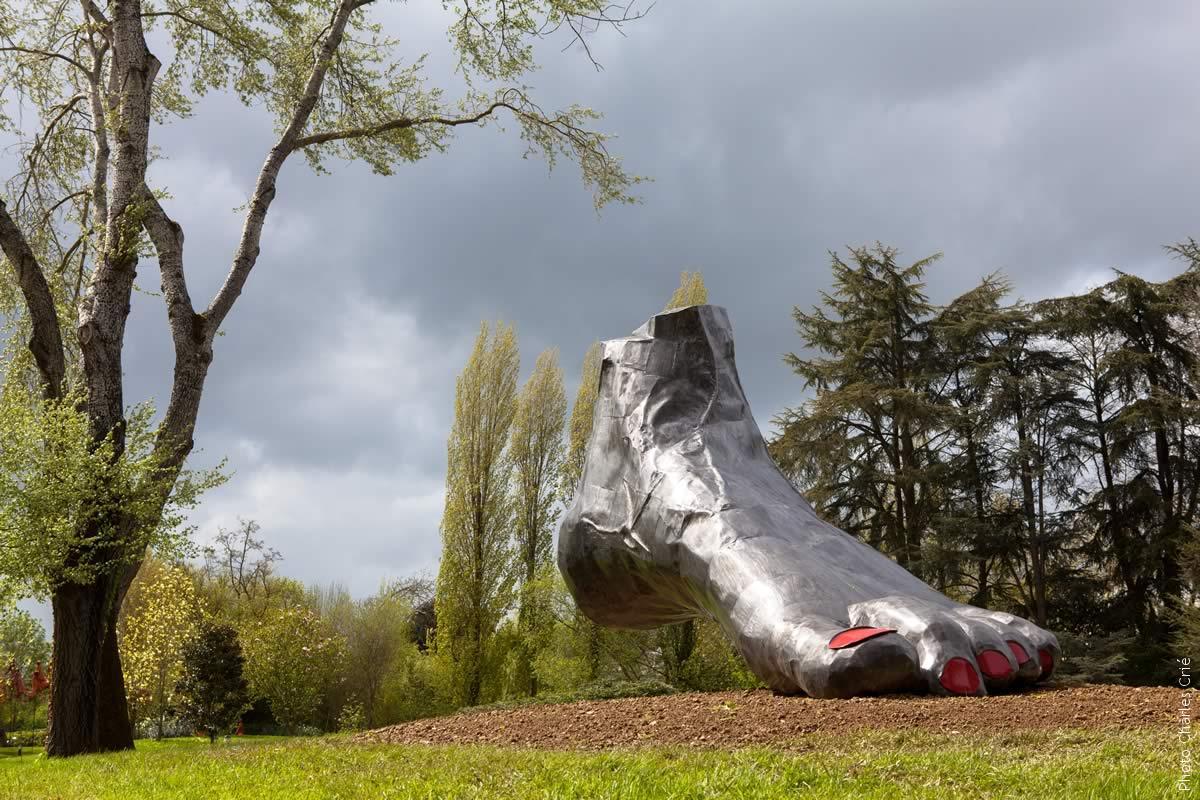 Le pied - Delphine Lecamp - Jardin des Arts 2012