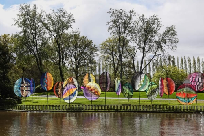 Kyrielle - Edith Meusnier - Jardin des Arts 2012