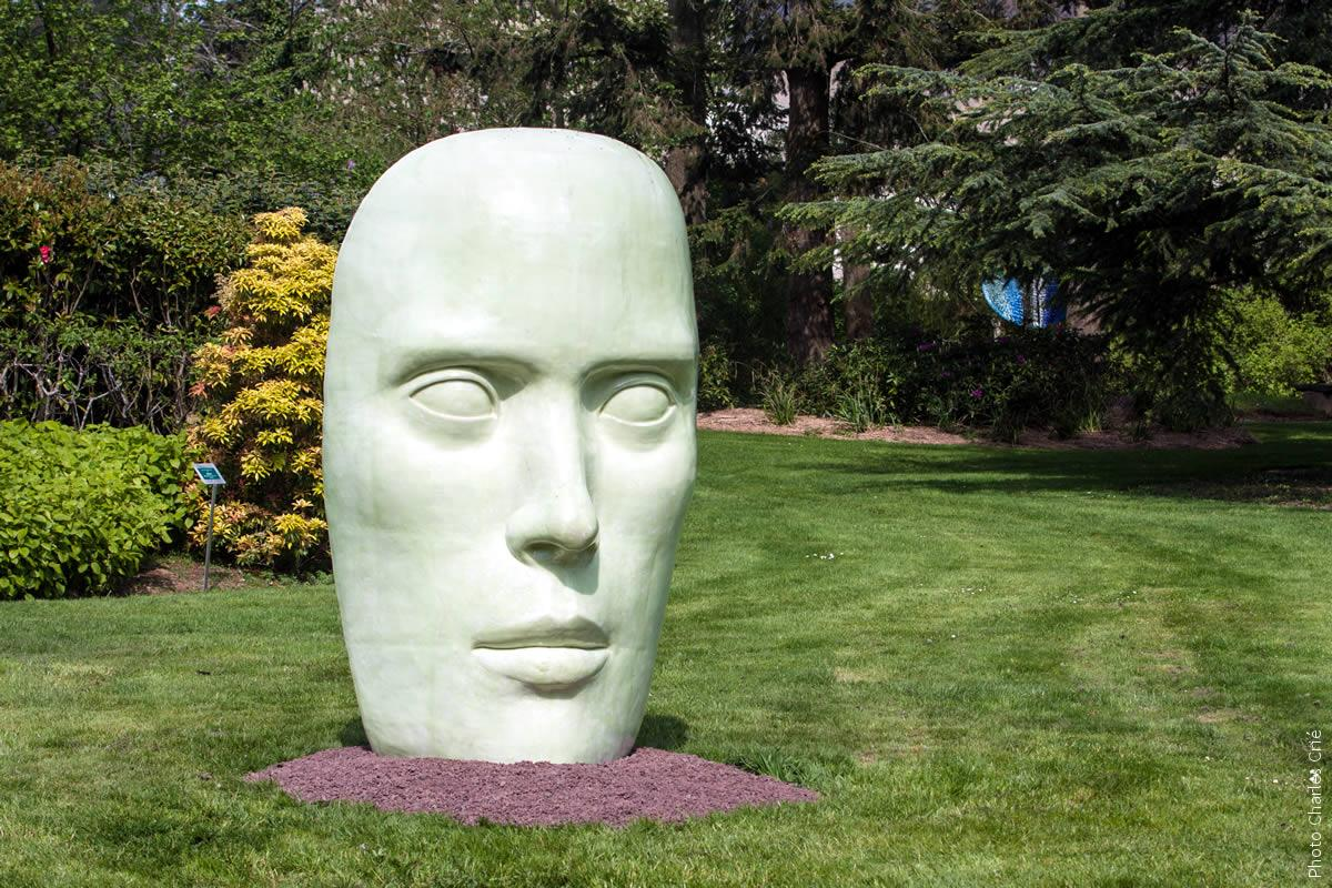Tête à tête - Rustha Luna Pozzi-Escot - Jardin des Arts 2012