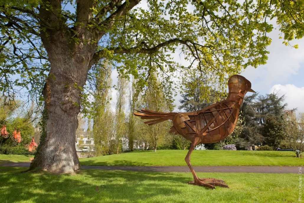 Oiseau improbable - Sébastien Guandalini - Jardin des Arts 2012