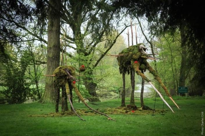 Mamhutte et Pachymachabec - Alain Bresson - Jardin des Arts 2013
