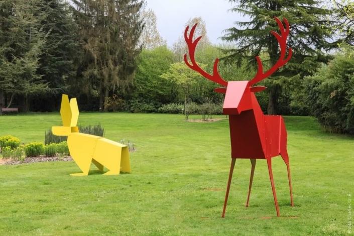 Animaux étranges et décalés - Remou - Jardin des Arts 2013