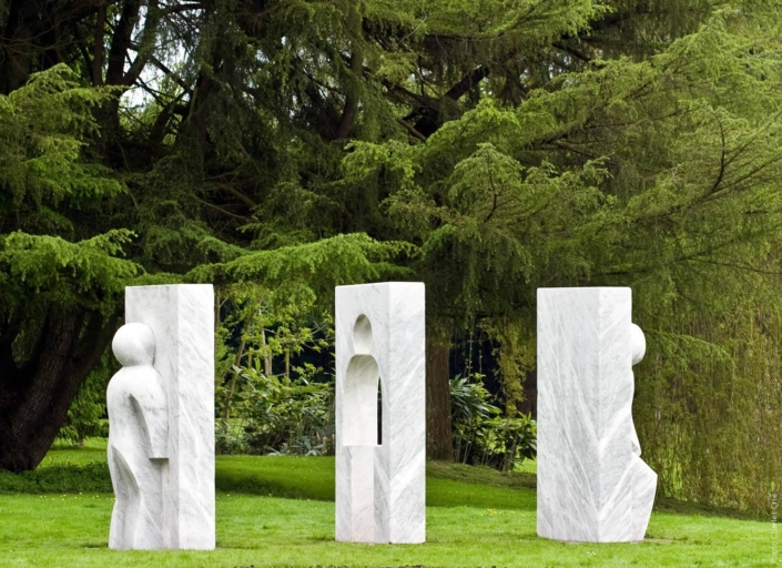 Le passage - Claudine Brusorio - Jardin des Arts 2008
