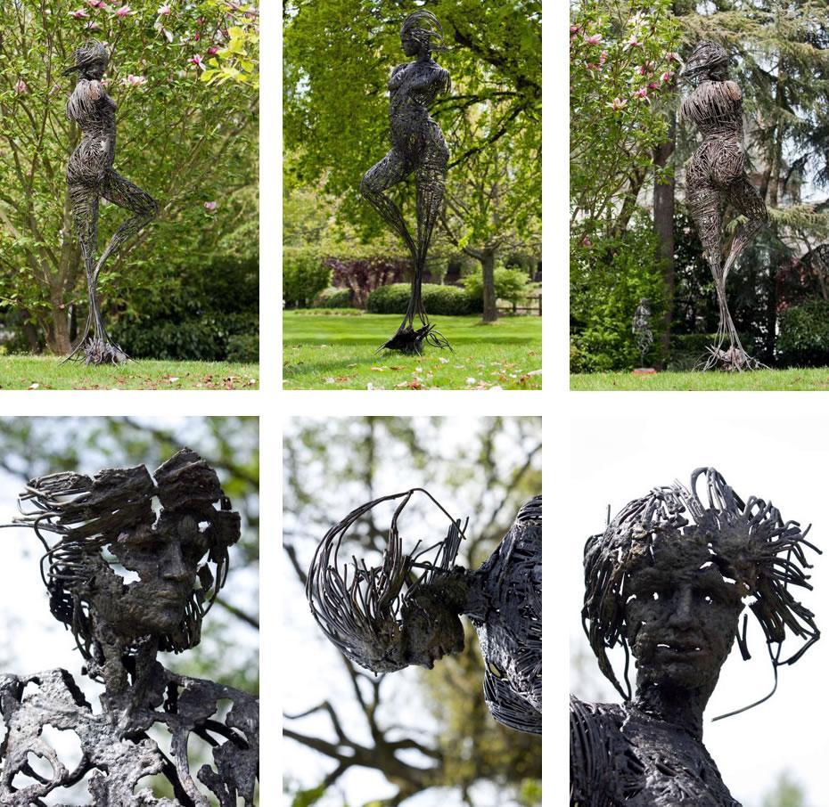 L'inachevée - Serge Sangan - Jardin des Arts 2010