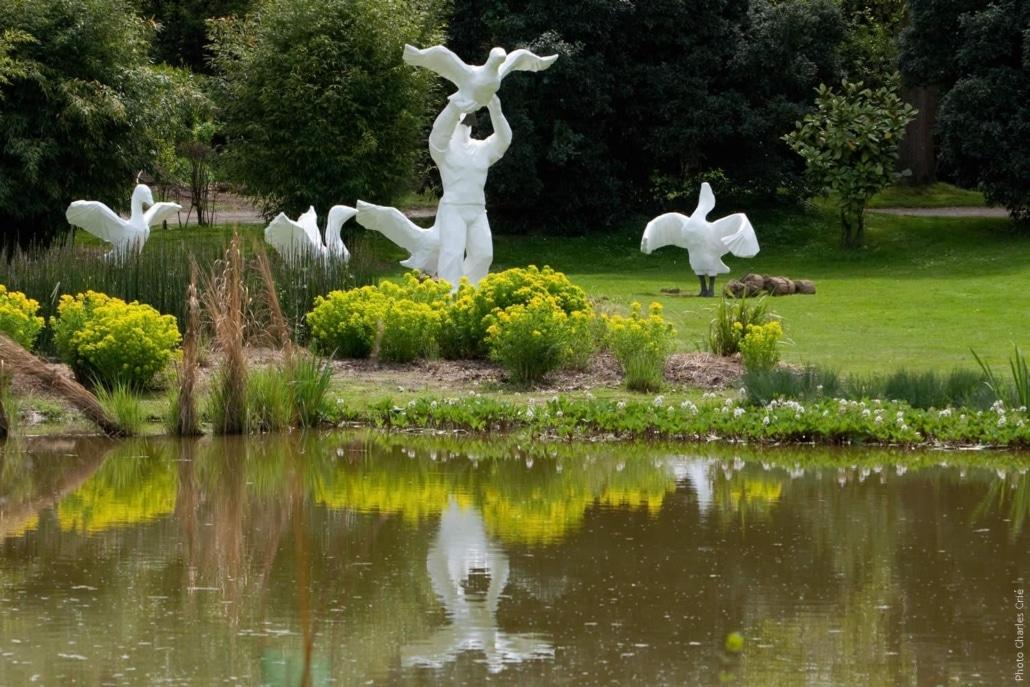 Migration - Cyrille Andre - Jardin des Arts 2010