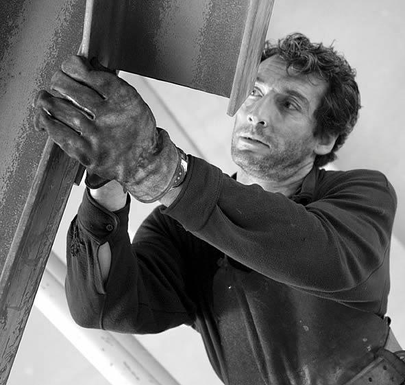 Nicolas Sanhes - Artiste Jardin des Arts 2009