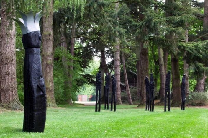 Roi Fragile - Pierre Marchand - Jardin des Arts 2011
