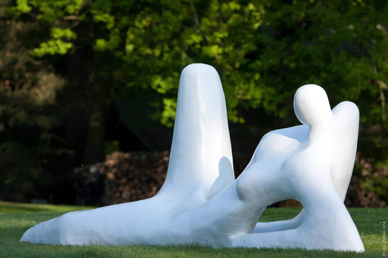 Résine peinte - Serge Saint - Jardin des Arts 2011