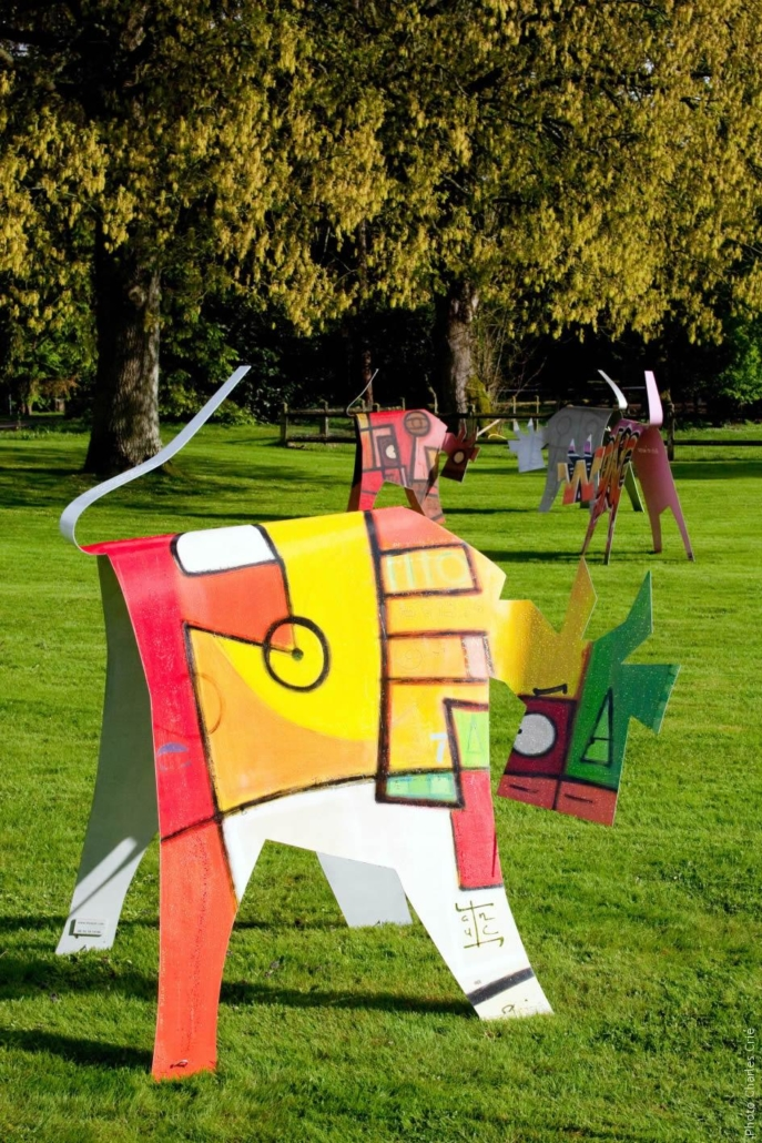 Vache de ® - VanLuc - Jardin des Arts 2009
