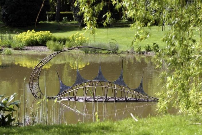 A Fleur d'eau - Pascale Planche - Jardin des Arts 2006