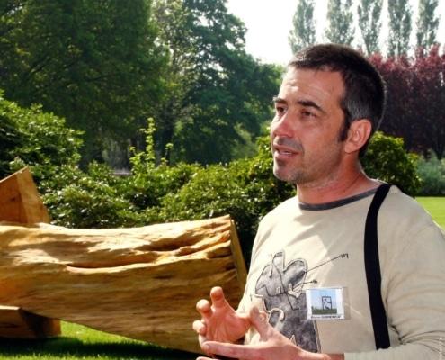 Bruno Guihéneuf - Artiste Jardin des Arts 2007