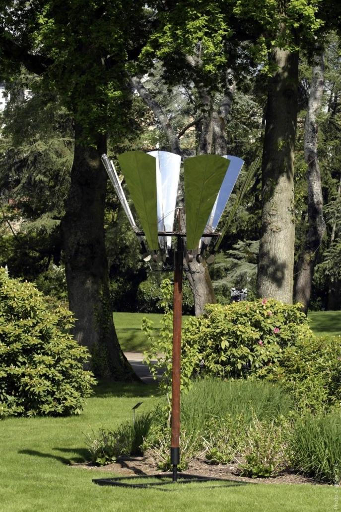 Fleurs animées - Lionel Le Scornec - Jardin des Arts 2006