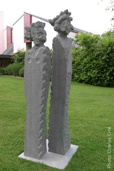 Sculpture Jardin des Arts 2003