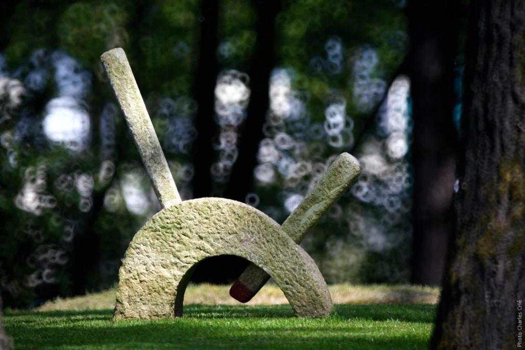 Oeuvre de Ronan Suignard - Jardin des Arts 2007