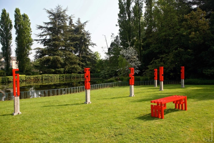 Section unique - Olivier de Coux - Jardin des Arts 2007