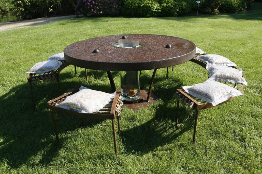 oeuvre de Philippe Hamelin - Jardin des Arts 2006