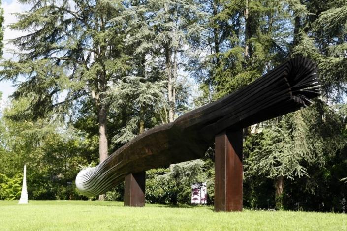 sculpture de Yannick Connan - Jardin des Arts 2006