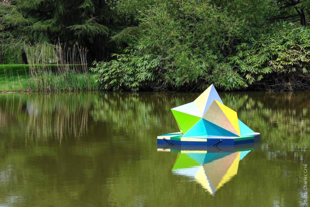Sculpture d'Elodie Boutry - Jardin des Arts 2019
