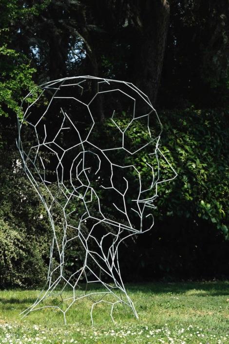 Sculpture d'Isabelle GARBIL FAUVE-PIOT - Jardin des Arts 2019
