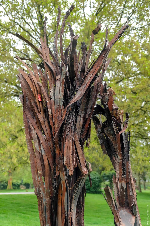 Sculpture de Julien Allègre - Jardin des Arts 2019