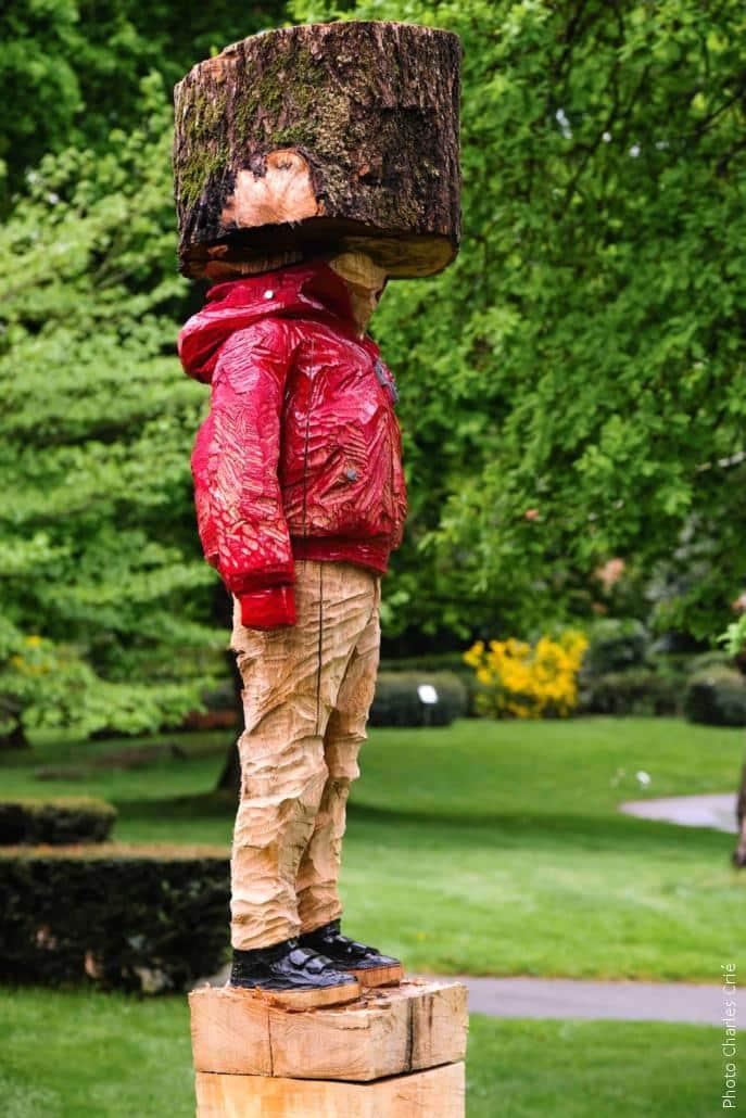 Sculpture de Nicolas-Vassili Barbé - Jardin des Arts 2019