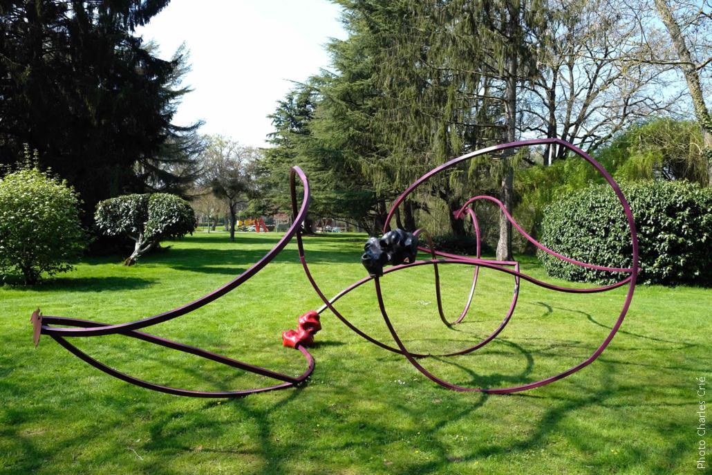 Sculpture de Pierre-Alexandre Rémy - Jardin des Arts 2019