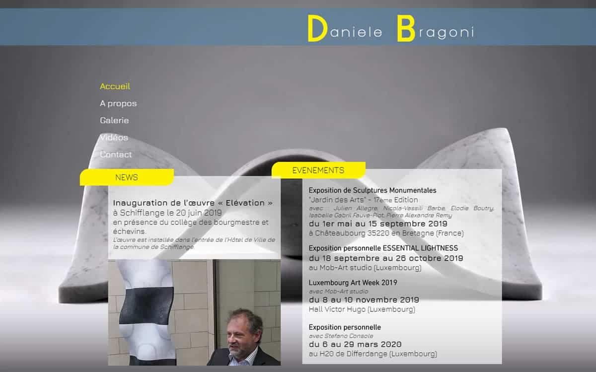 Site web de Daniele Bragoni