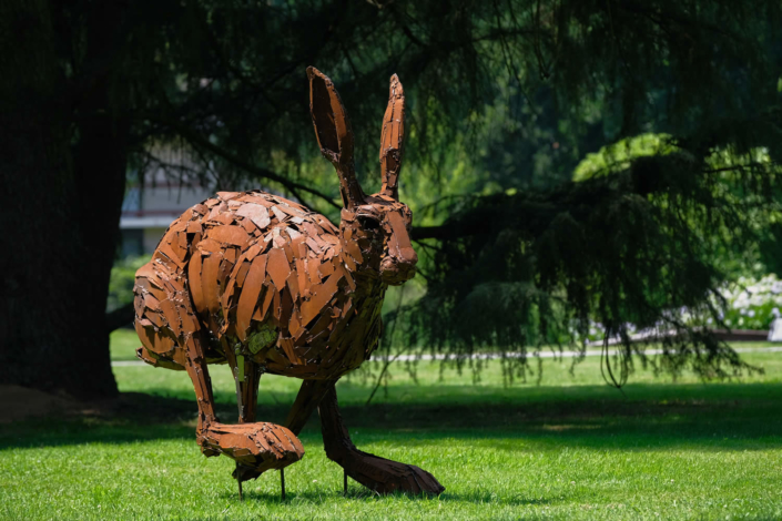 Sculpture de Christian HIRLAY - Jardin des Arts 2020