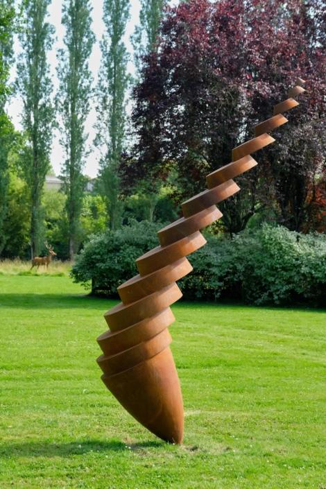 Sculpture de Felix VALDELIEVRE - Jardin des Arts 2020