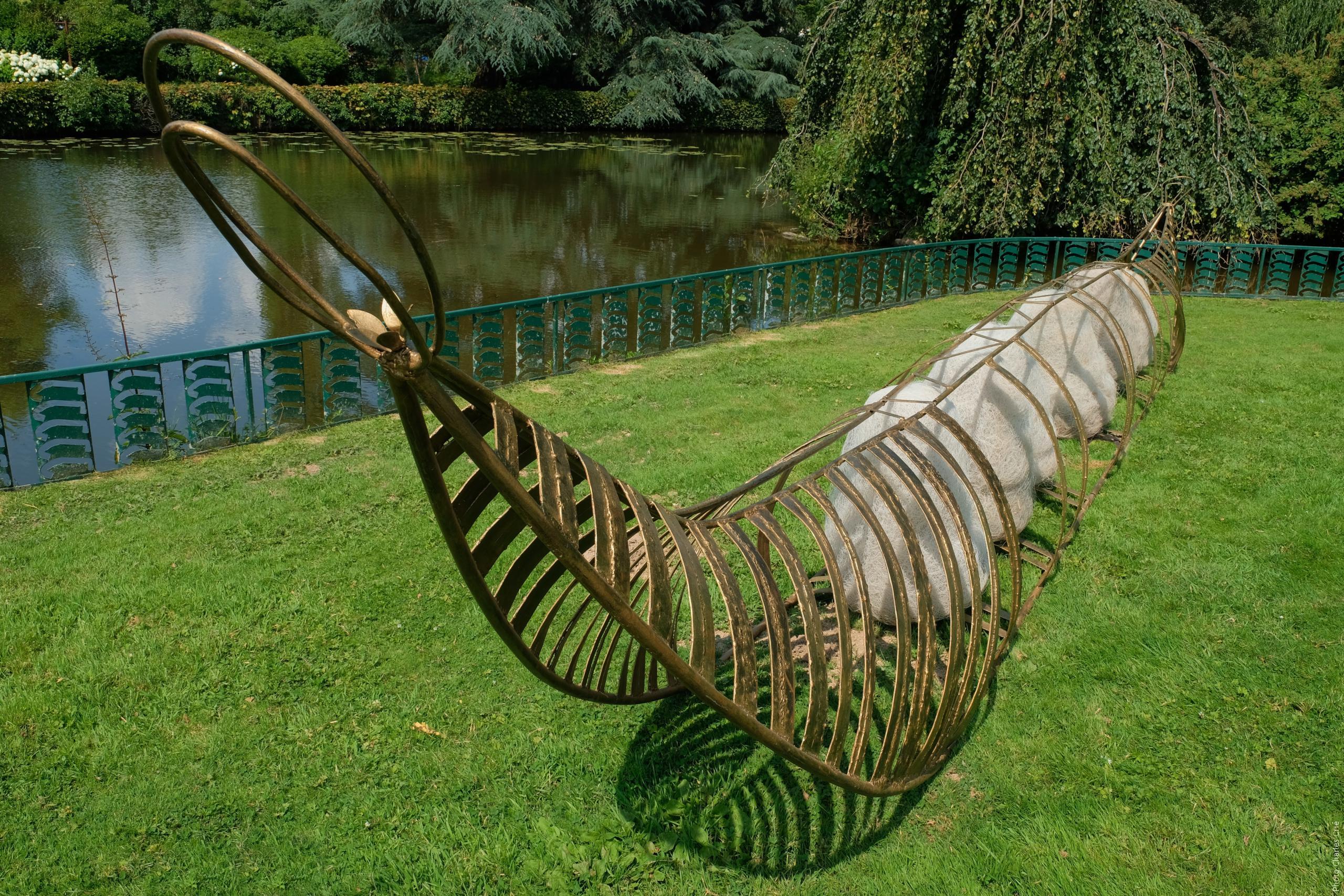 une œuvre d'Odile de FRAYSSINET - Jardin des Arts 2020