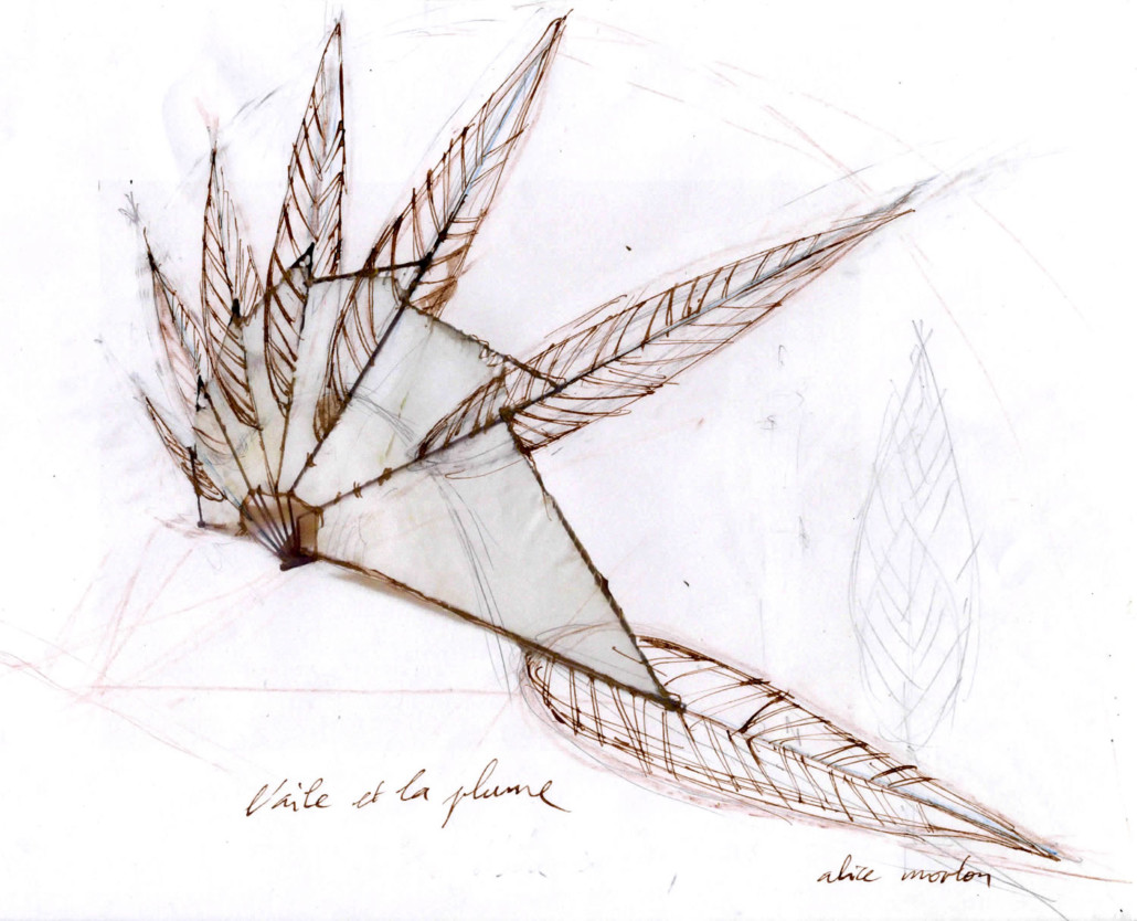 Oeuvre de Alice Morlon - Jardin des Arts 2021